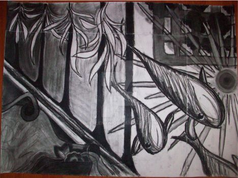 Charcoal Fish by Merlenyn