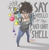 Hard Candy Shell by str4yk1tt3n