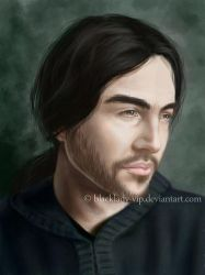 Male Portrait by blacklady-vip