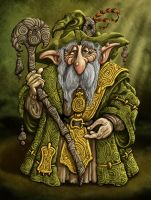 Green Wizard by ravenscar45