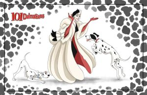 Friendly Villains #1  - 101 dalmatians by Precia-T