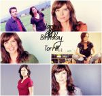 Happy Birthday Torri Higginson!!! by Before-I-Sleep