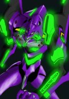 EVA 01 Test Type by Ronniesolano