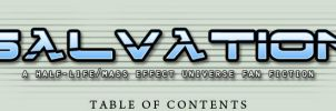Salvation Table of Contents by EspionageDB7