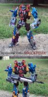 Wreckers Combiner- WRECKTIFIER by Unicron9