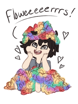 Flowers! by TheZodiacLord