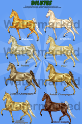 Game Art Dilutes - Gaited by AvalonSparkles