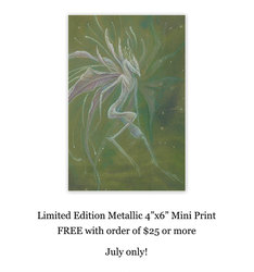 July Shop Special: Free Mini Prints by thedancingemu