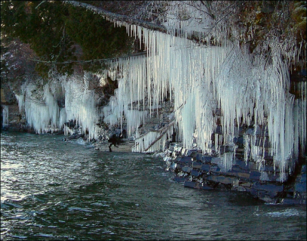 Hanging Garden of Ice by wb-skinner