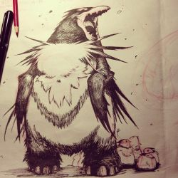 BBBB 11 Wooly Penguana by joverine