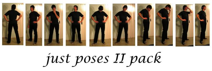 just poses II pack by syccas-stock