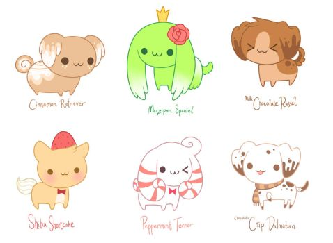 pastry puppies by TV-SHOW