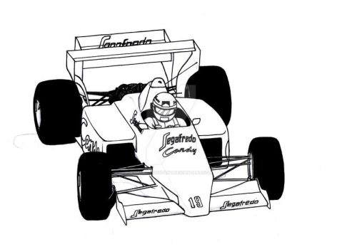 Senna's Toleman by greatassistant