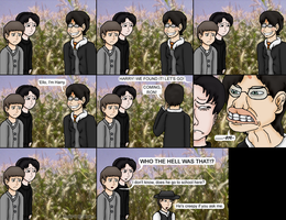 HarryPotter Visits a Cornfield by Daisy-of-the-wolves