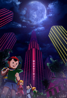 Earthbound Moonside by silverflamng