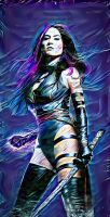 Psylocke by lordcemonur