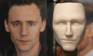 My Immortals Original Loki sculpt commission WIP by my-immortals