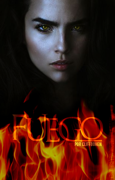 Fuego|BOOK COVER #5 by Iwillshine