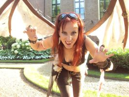 Steampunk Girl Castlefest 2011 by lilam70