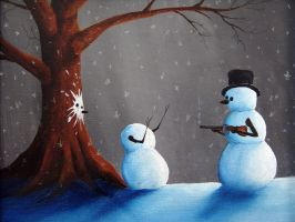 When Snowmen go bad... by dowlingstudios
