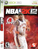 Carmelo Anthony NBA 2K12 Cover by IshaanMishra