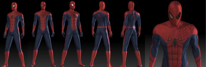 The Amazing Spiderman 3D by Leon8524