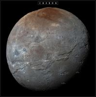 Charon - Moon of Pluto by atlas-v7x