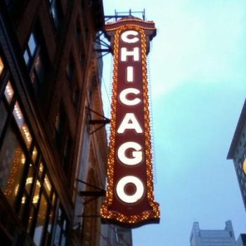 Cellphotography.ChicagoTheatre by WarpedBabiDoll