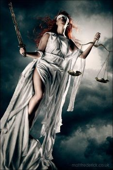 Lady Justice- Roswell Ivory by Roswell-Ivory