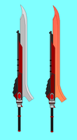 RWBY OC Weapon request by RyuRyugami