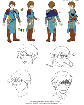 TOME Character Reference Sheet - Glorious Omni by SakuraNights
