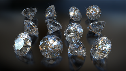 Diamond Dozen by mlindeart