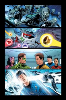 Star Trek/Green Lantern 01 02 by MarkHRoberts