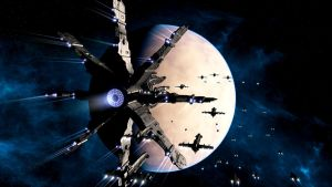 Invasion Fleet by Stormfactor