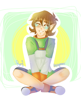 Altean Pidge by xxlucynekoxx