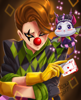 Lushen and Karona Summoners War by MeowYin