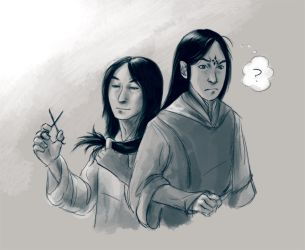 Xan and Fen by Jandalf