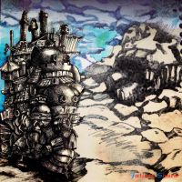 howl's moving castle by fatimasharw