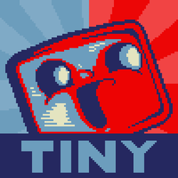 Tiny Box Tim as your president by TotaledHero10
