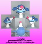 Popplio hat by PokeMama