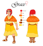 Grace's Human Reference Sheet 2016 by MelodicDragon