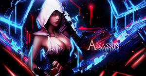 Assassin Girl by Kypexfly