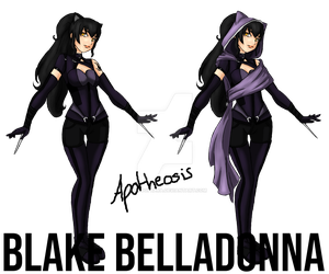 Blake Belladonna - RWBY's Creed - Concept art by Worldofbaka