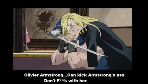 Armstrong vs Armstrong by XedaAnimeluvr
