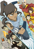 Legend of Korra collage by BrotherToastyCakes