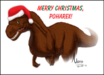 MerryChristmas Poharex and Dory Holtzman - 2013 by NovaTheArtist