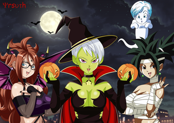 Happy Halloween - Dragon Ball Super by YrsuTh