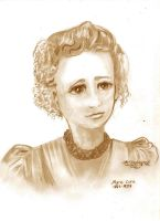 Marie Curie Woman Scientist by StephanieSmall