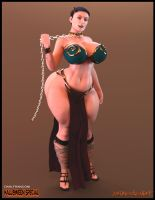DAHL'S PRINCESS LEIA by mob342002