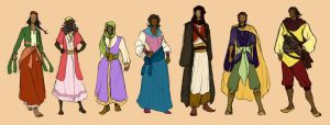 Redguard clothing by ankalime